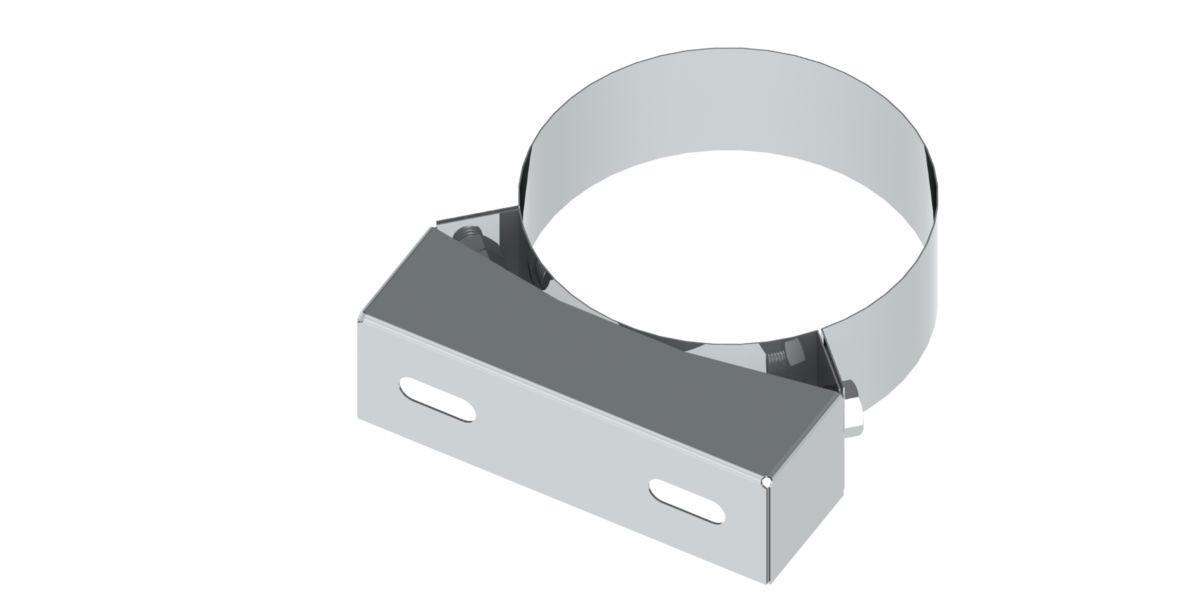Base di fascetta regolabile, 50mm