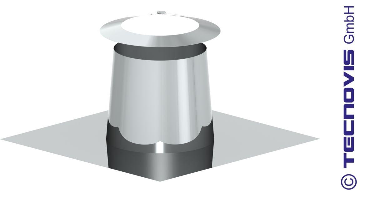 Faldale a spiovente per tetto piano 0-5°