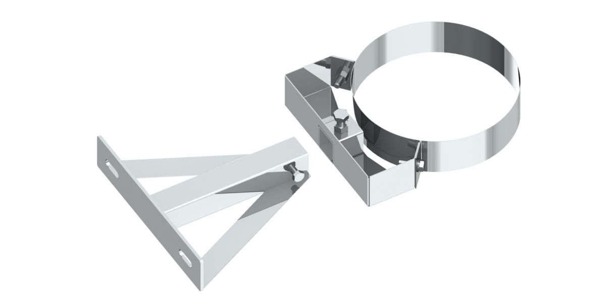 Distanziatore a parete rigida (sezione testa / parete), da 360 mm