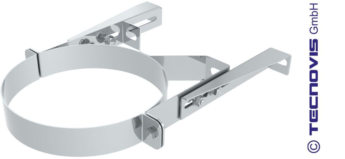 Collare fisso in Inox 5 - 15 cm